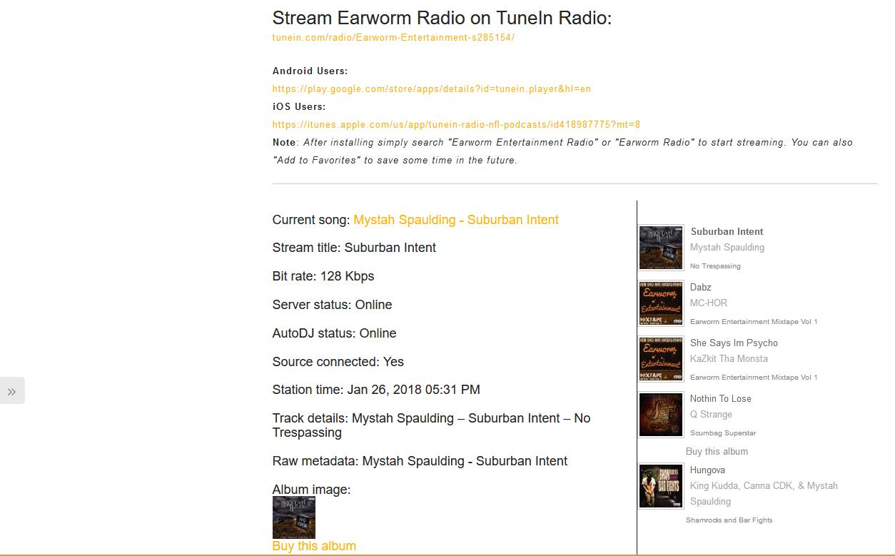 EWER ♫ EARWORM ENTERTAINMENT | RADIO