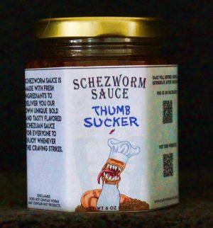 Thumb Sucker Schezworm Sauce 6oz