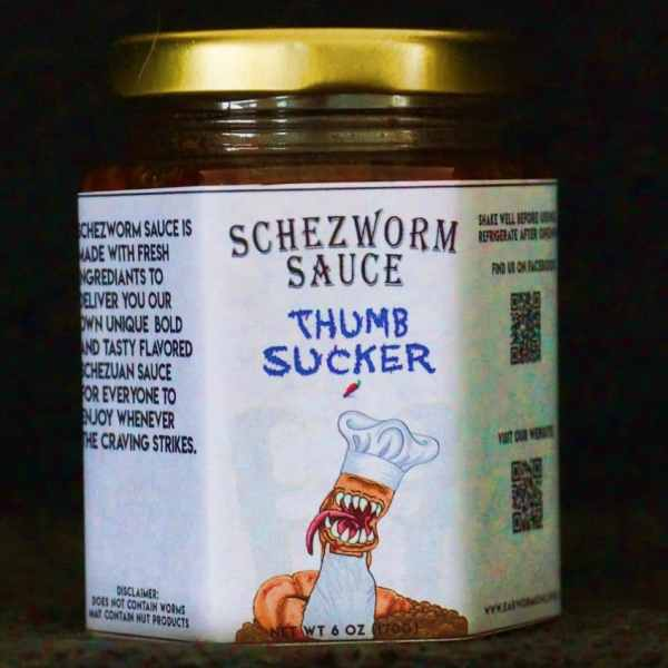 Thumb Sucker Schezworm Sauce 6oz
