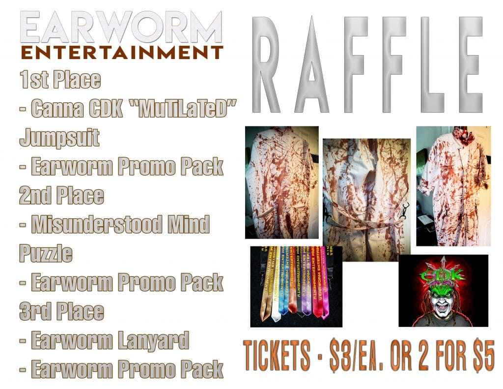 Schedule, Set-times, and Raffle