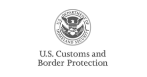 US Department of Homeland Secutiry Client gray logo Commercial Security System