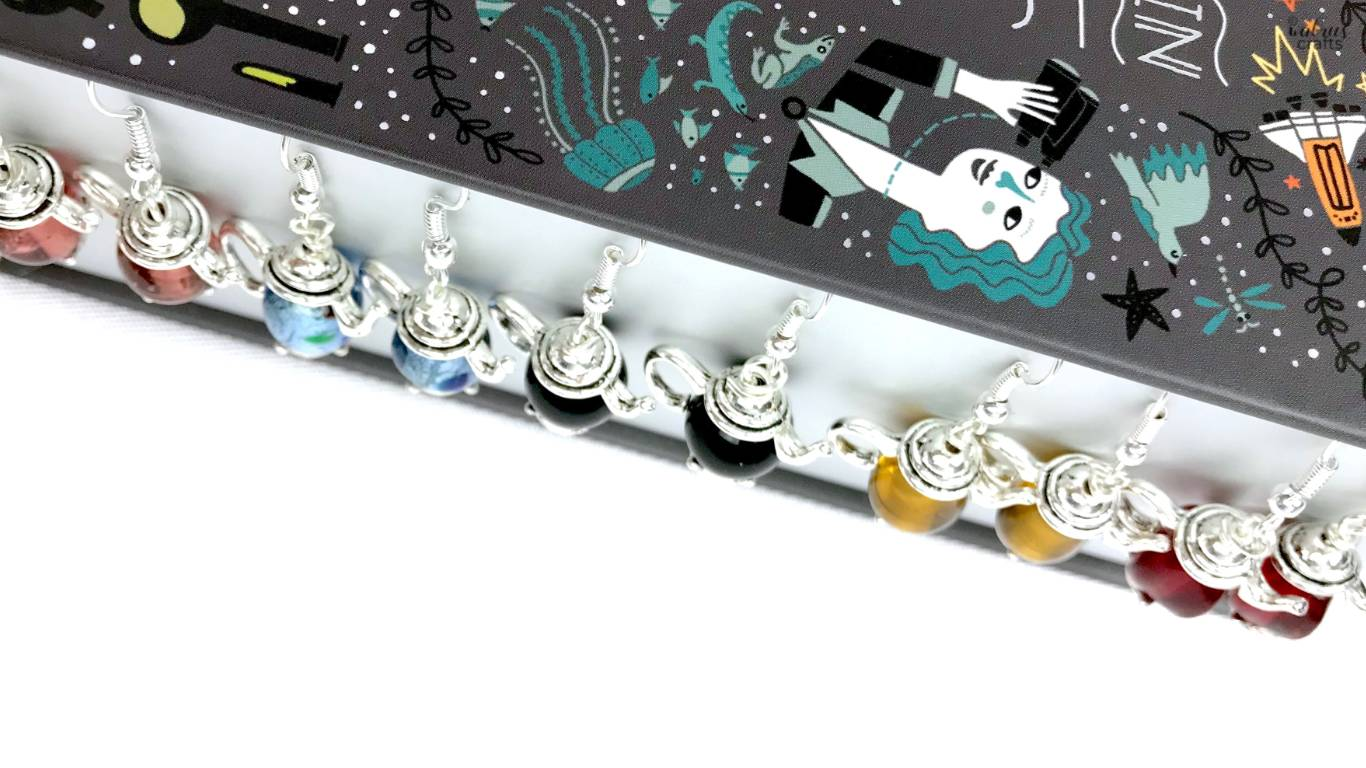 diy tutorial for making cute teapot earrings #diy #teapot #earrings #handmadeearrings