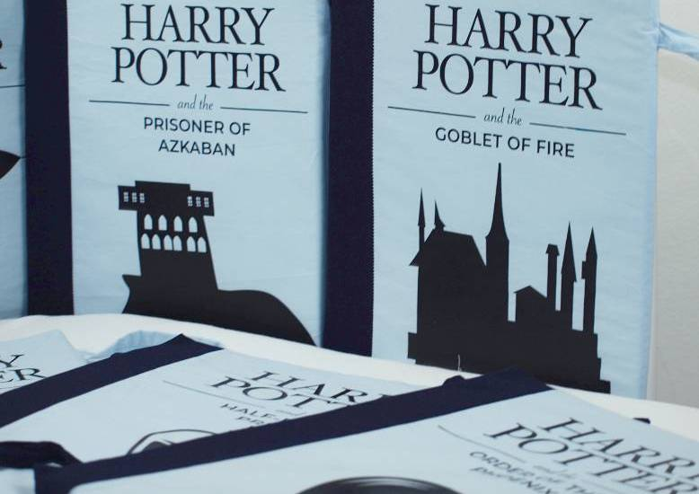 Harry Potter Crib bumper - sew it yourself - book-themed crib bumpers #diy #harrypotter #cribbumper