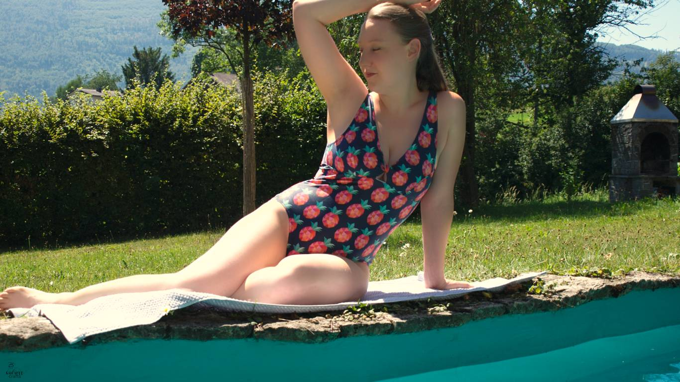 Cygne Swimsuit pattern review #handmade #sewing #diyswimsuit