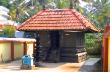 Durga temple in the same compound