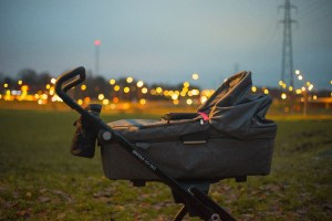 Strollers, baby carriers and infant stress