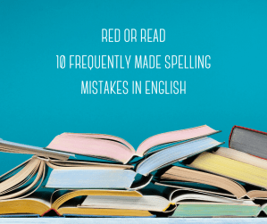 tricky spelling in English