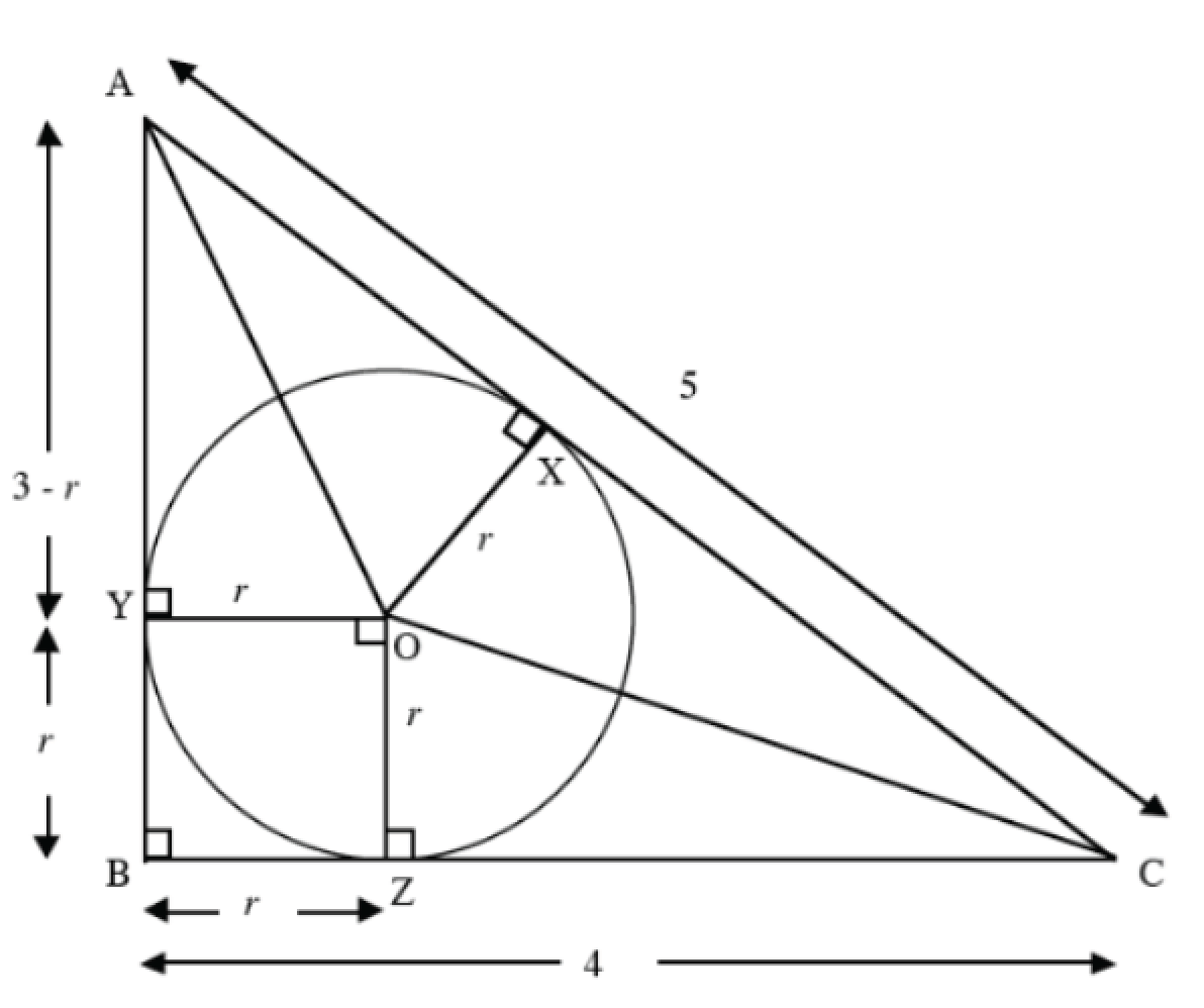Inscribed Amp Circumscribed Right Triangles