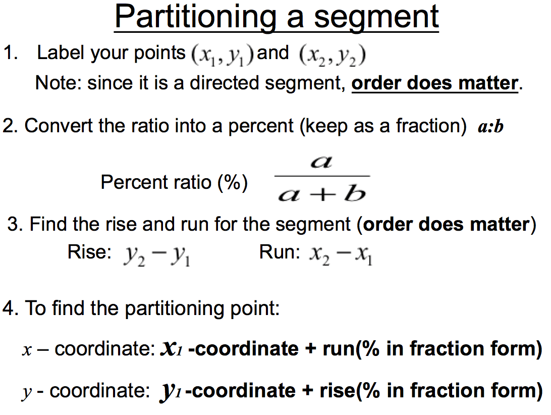 6 15 Worksheet Partitioning Line Segments Answers