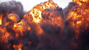 Gas station explodes in Lagos, razes two shops