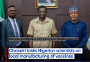 Obaseki tasks Nigerian scientists on local manufacturing of vaccines