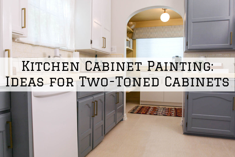 Kitchen Cabinet Painting Shelby Twp Ideas For Two Toned Cabinets Eason Painting