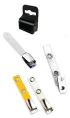 accesorios para tarjetas plásticas pinzas