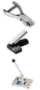 accesorios para tarjetas plásticas troqueladoras