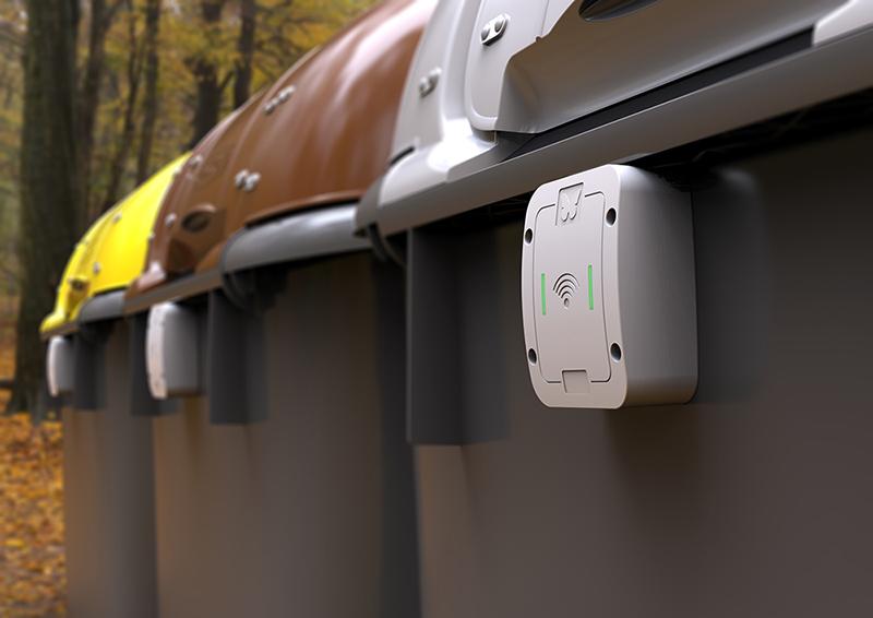 Cerraduras para contenedores de residuos orgánicos