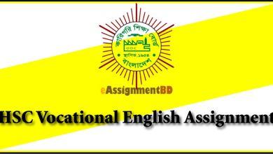 HSC Vocational English Assignment