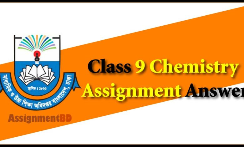 Class 9 Chemistry Assignment