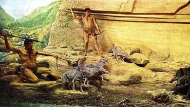primitive people drawing