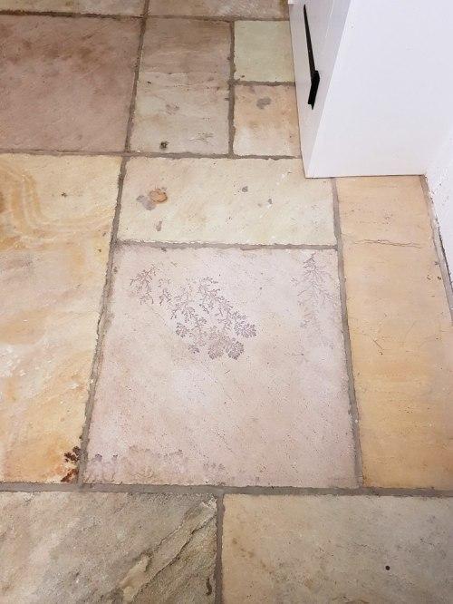 Sandstone Kitchen Floor Tile After Cleaning Quarry Bank Mill Cottage