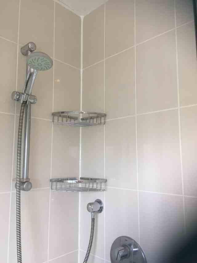 Mouldy Ceramic Tiled Ensuite Shower Cubicle After Renovation Chelford