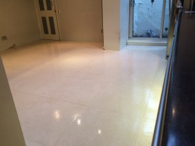 Limestone Tiles after cleaning in Hastings