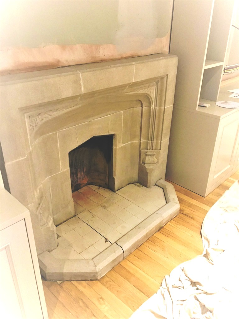Stone Fireplace After Cleaning Brighton