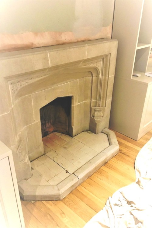 East sussex east sussex tile doctor for Stone fireplace hearth cleaning