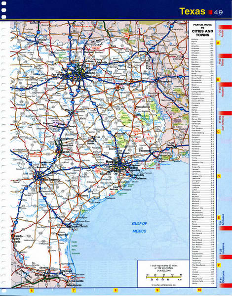 Road Map Northeastern United States
