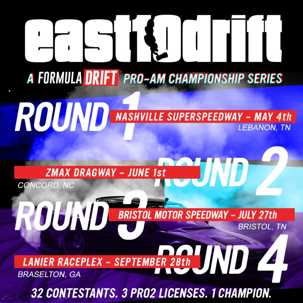Formula Drift 2020 Schedule Pro Am   East10Drift