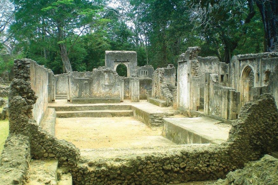 Mombasa Gedi Ruines
