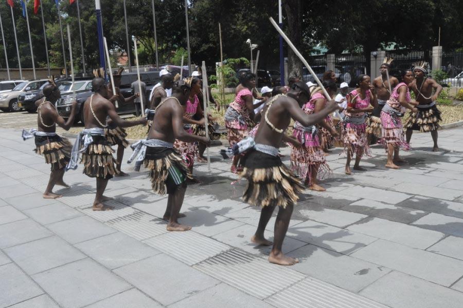 Cultural Dance in Dar Es Salaam