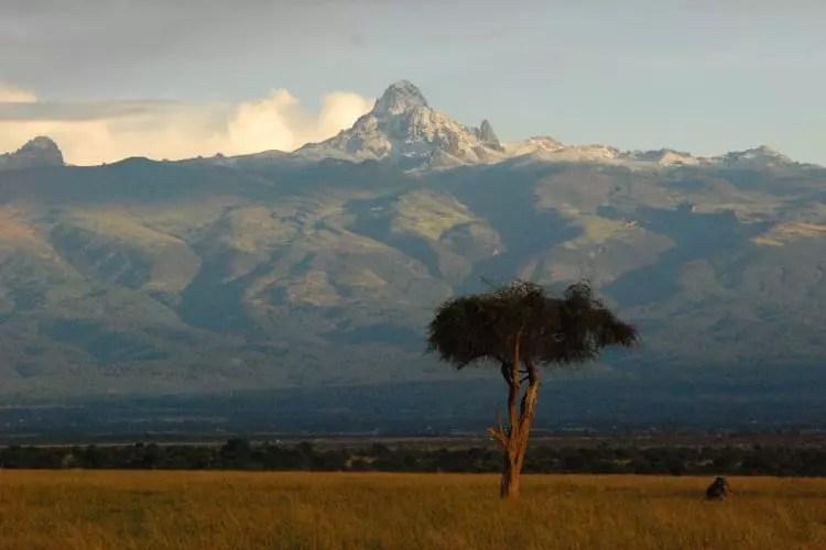 Ol Pejeta Mount Kenya Views