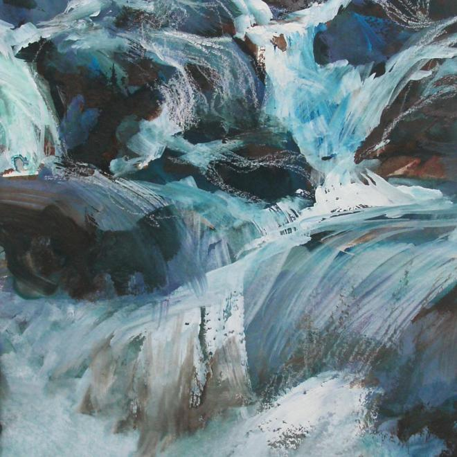 The Sorrell Award: Tumbling Stream by Lesley Rumble