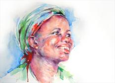 The Royal Institute of Painters in Water Colours Award: Believe by Stephie Butler