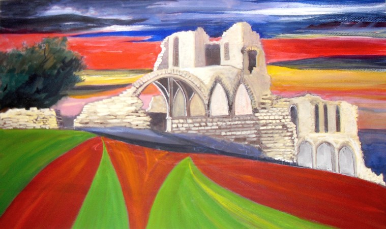 St Cuthbert's Paper award - Kirkham Priory by Rita Browne