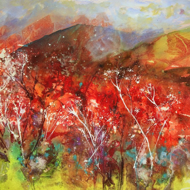 Red mist by Mita Higton