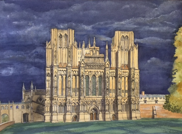 Wells Cathedral by Rita Browne