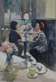 Bobby Dazzler in the Teahouse by Sue Lees