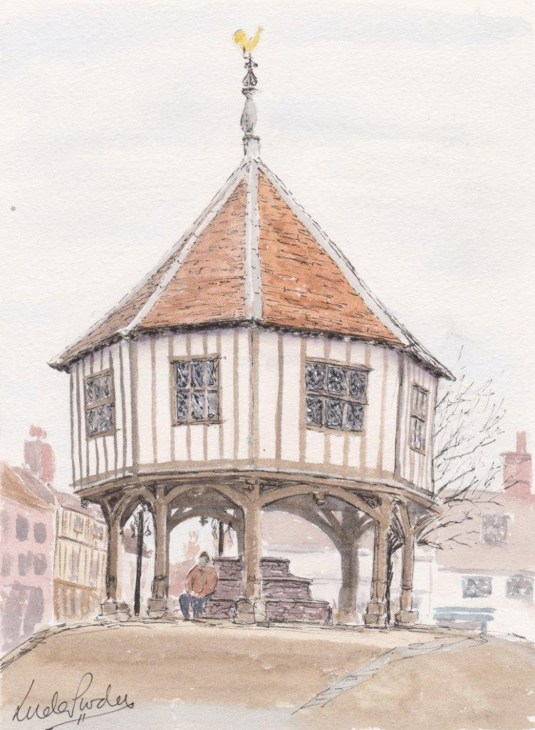 Wymondham Market Cross by Linda Purdy