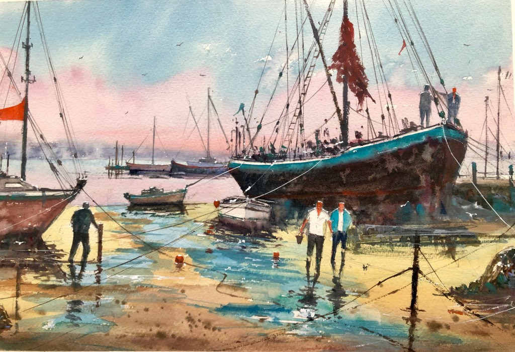 Watercolour by Surinder Beerh