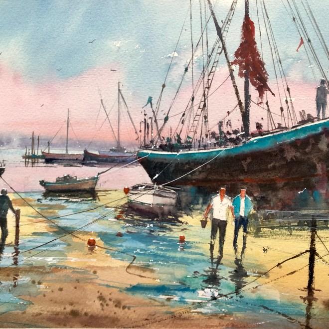 Watercolour by Surinder Beerh