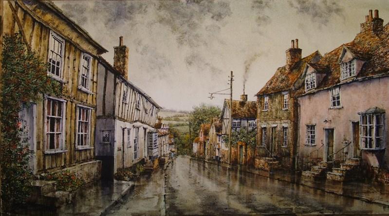 Prentice St, Lavenham by Reg Siger