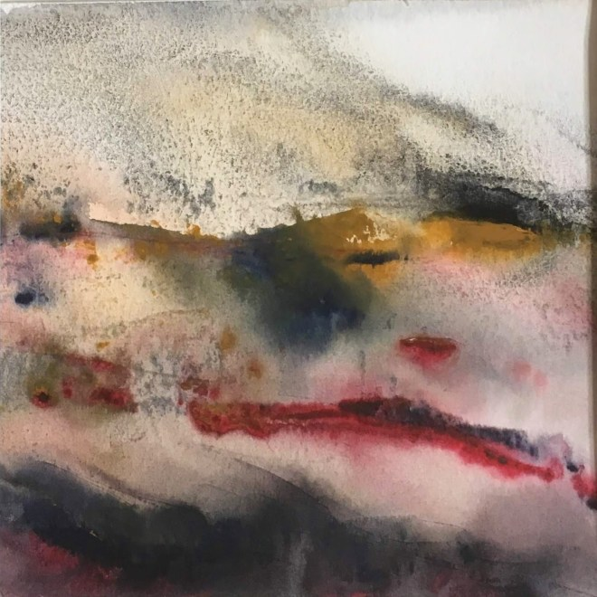 Stormy heather by Penny Newman (unframed)