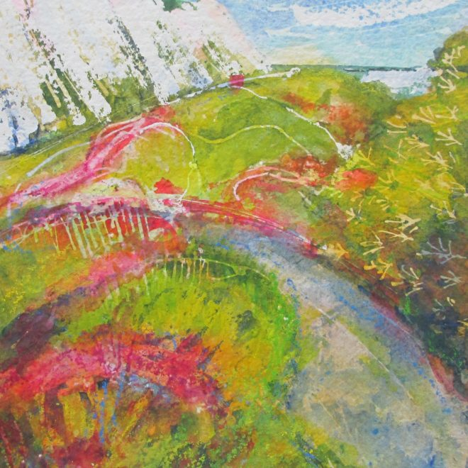Samphire Hoe, Dover by Susan Keeble