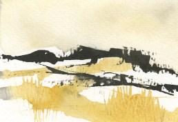 The Tors Dartmoor III by Penny Newman