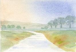 Winding River by Rita Browne