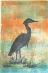Heron by Sue Downie