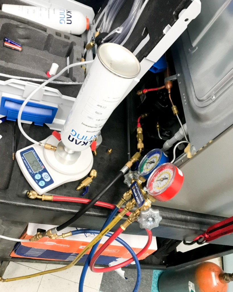 r600a sealed system refrigerator training