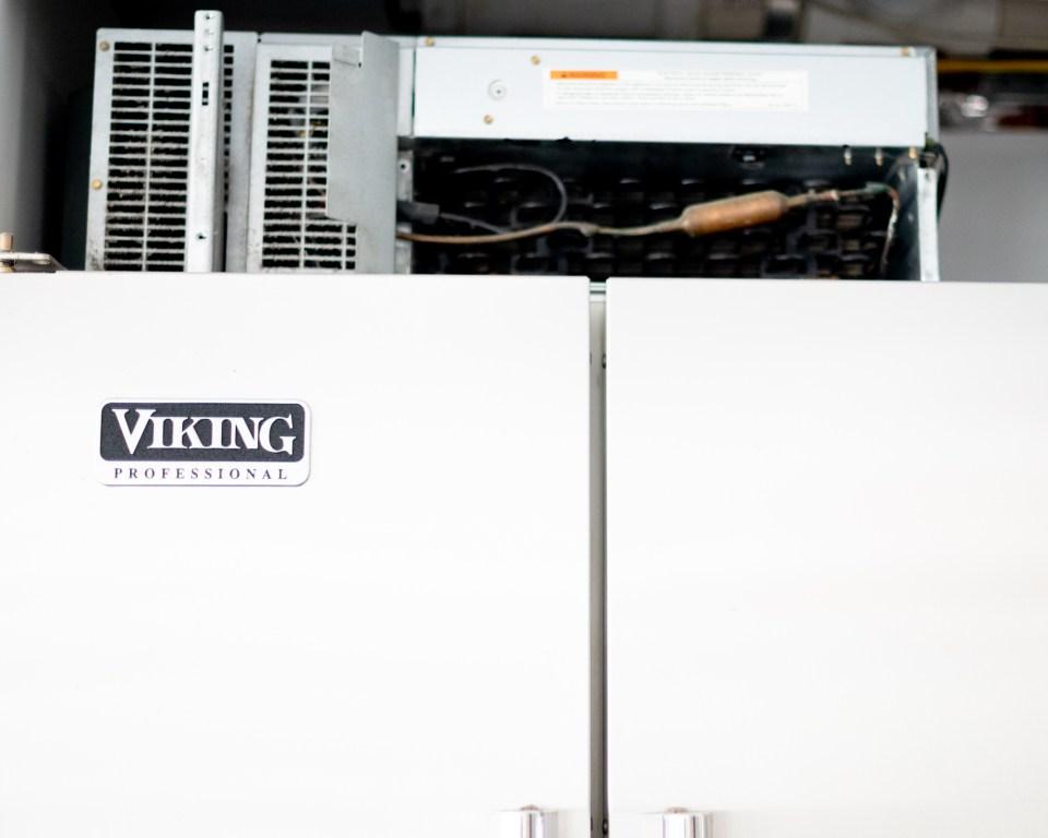 Viking Professional Refrigerator Repair - Unit Compartment