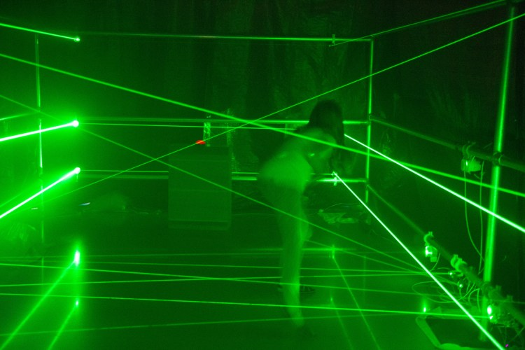 Benicia Makerspace Laser Maze